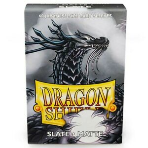Dragon Shields Matte Slate Japanese/Small Standard Protector Card Sleeves