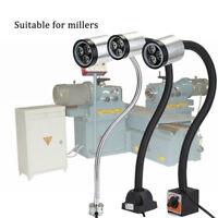 Flexible LED Lamp Bulb Sewing CNC Machine Magnetic Base Gooseneck Working Light
