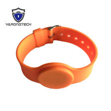 MIFARE Classic 1K RFID 13.56MHZ ISO14443A Bracelet Silicone Access Wristband -5