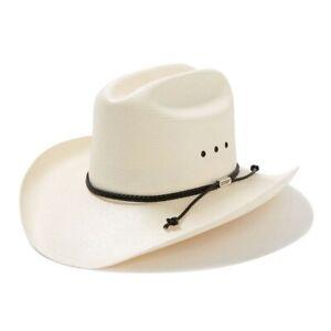 "Stetson® 10X Carson Straw Hat 3 3/4"" Brim"