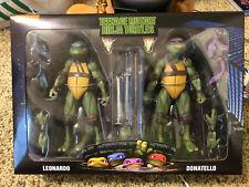 NECA TMNT Walmart 2pack Leonardo Donatello Raphael Michelangelo Figures