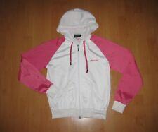 Reebok Trainingsjacke Größe 14/152/158 weiß/rosa sehr guter Zustand