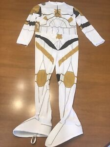 Star Wars Clone Trooper Cody Costume Child Size Medium 8-10 Suit Only (used)
