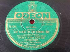78 rpm - HARRY JAMES - The flight of the bumble bee - ODEON 279.822