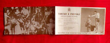 TARZAN'S DESERT MYSTERY 1940'S JOHNNY WEISSMULLER NANCY KELLY EXYU MOVIE PROGRAM