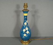 LAMPE ART DÉCO DÉCOR JAPONISANT/ FUT DE LAMPE CÉRAMIQUE EPOQUE 1900 ART NOUVEAU