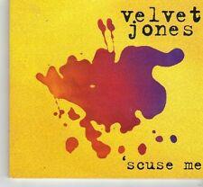 (FM824) Velvet Jones, Scuse Me - 1996 CD
