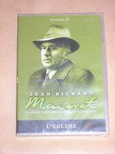 DVD SERIE / MAIGRET / JEAN RICHARD / L'ECLUSE / NEUF SOUS CELLO