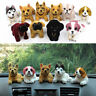 Shaking Head Nodding Beagle Shepherd Labrador Dog Lucky Puppy Ornament For Car