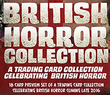 British Horror Collection 18 Card Preview Set