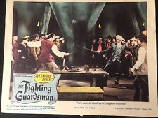 GENUINE VINTAGE 1946 'THE FIGHTING GUARDSMAN' LOBBY CARD