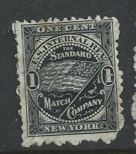 RO 170d-STANDARD MATCH 1  CENT PRIVATE DIE MATCH STAMP #2-48