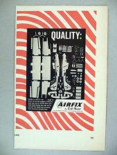 Airfix Hobby Model Kit PRINT AD - 1966 ~ Craft Master airplane kits