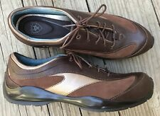 New! ARIAT Women's 8.5 B Montclair Brown Leather Lace Up Oxford Shoes