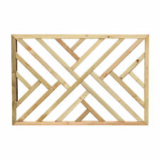 Cross Hatch Decking Panels - Contemporary Wooden Design - Pressure Treated