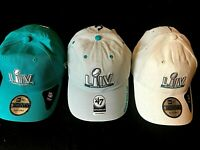 Pack of 3 Super Bowl LIV Miami 2020 Chiefs vs 49ers Adjustable Hats 3 colors NEW