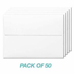 Poppy Crafts - A2 White Envelopes