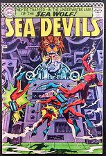 Sea Devils 1967 #33 Fn Minus Sharp Book Sea Devils Meet The Sinister Sea Wolf!