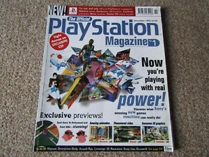 THE OFFICIAL UK PLAYSTATION MAGAZINE ISSUE 1 NOVEMBER 1995