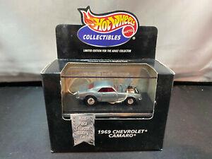Hot Wheels Black Box 1969 Chevrolet Camaro 1/64 Diecast Multi Piece Collector