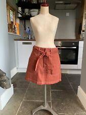 Rust Brown Short Skirt Size 10