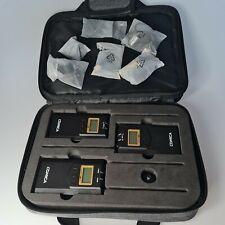 Comica CVM-WM100 Plus 2TX+1RX Dual Lavalier Microphone System PLEASE READ