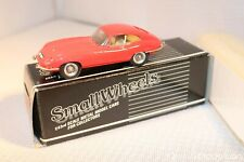 Western models SW11 Jaguar E-Type FHC Red 1:43 perfect mint in box what a beauty