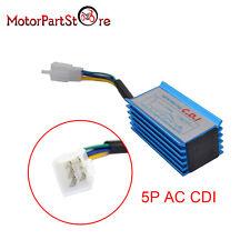 5 Pin RACE NO REV HYPER CDI BOX XR50 CRF50 50 70 125 ATV MOPED SCOOTER BIKE BLUE