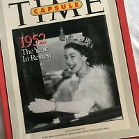 1952 Year in Review TIME Capsule Magazine Queen Elizabeth