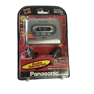 Panasonic RQ-E10V Personal Walkman Cassette Tape Player AM/FM XBS New