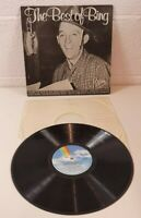 Bing Crosby The Best Of Bing Vinyl LP Record 1973