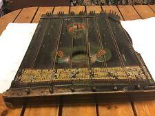 More details for antique vintage harpeleik zither 64 strings 1929 with original case