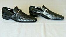 RARE! $2700 Salvatore Ferragamo Genuine Crocodile Horsebit Loafers Boots Shoe 11