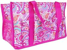 Thirty-one Utility Organizer mini tote hand bag keep it caddy in Pink Paisley
