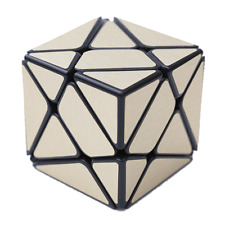 2x2 Axis Cube Ultrosmooth Speed Cube Twist Puzzle Stress Relief Toy Golden Color