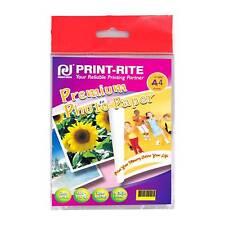PRINT-RITE Brillo A4 inyección de Tinta Papel fotográfico 200gsm-20 hojas