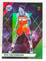 RUI HACHIMURA RC 2019-20 Chronicles RECON GREEN PARALLEL HOLO Rookie Card 287 SP