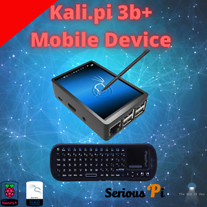 "Kali Linux Raspberry Pi 3b+ Assembled with 3.5"" Display (32 gig SDCH C10)"