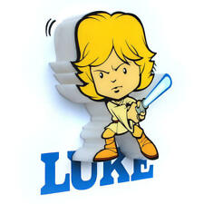 Lampara Led 3D pared Luke Star Wars Disney mini