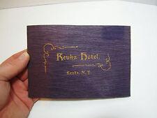 RARE Keuka Hotel NY Advertising Booklet w Map 1900 Travel Penn Yan Hammondsport