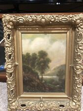 Estate Antique Original Oil Painting Signed By Artist