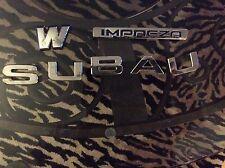 Subaru emblem wrx oem impreza 02