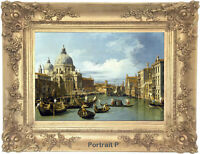Old Master Art Vintage Venice Landscape Oil Painting Canvas Unframed 24x36 inch
