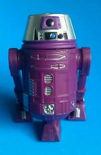 Star Wars 2015 Disney BAD Build a Droid Factory Purple Silver R6 Top Hat New