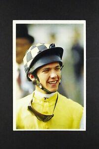 1 x card BBC Question of Sport 1991 Frankie Dettori Jokey Horse Racing