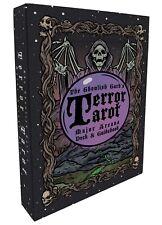 Terror Tarot - 22 Card Major Arcana Gothic Halloween Tarot Card Deck & Guidebook