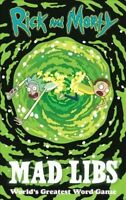 Rick and Morty Mad Libs, Paperback by Conte, Kristin, Like New Used, Free shi...