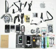 LOT OF 30 CELL PHONE ACCESSORIES IPHONE SAMSUNG MOTOROLA CASIO VERIZON & MOPHIE