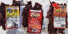 🔥XXX Combo🔥 (Carolina Reaper, Ghost Pepper, Habanero 2x) beef jerky, Jerky Hut