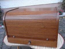 Art Deco Rolladen - Schubladen - schrank als Besteck - kasten 147 Besteck Teile
